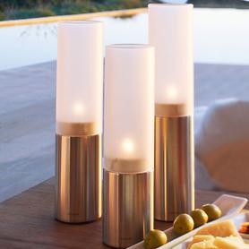 Teelichthalter/Windlichter Faro, 3er-Set
