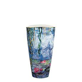 Vase 'Seerosen mit Weide' H 28
