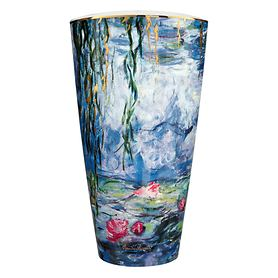 Vase 'Seerosen mit Weide' H 50