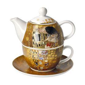 Tee-Set Der Kuss