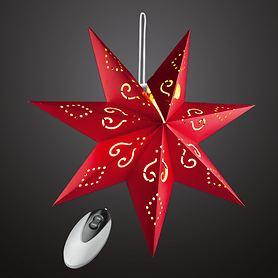 LED-Stern zum  Aufhängen rot