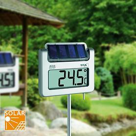 Solar-Garten-Thermometer Avenue