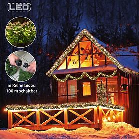 Profi-LED-Tannengirlande