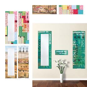 Design Spiegel, Garderobe und Schlusselbrett
