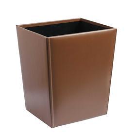 papierkorb-braun-aus-leder
