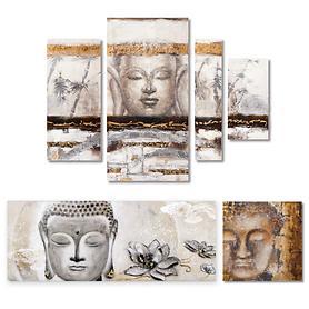 Bilder-Set Buddha 4-teilig