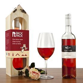 Geschenkset Rack Pack+Wein