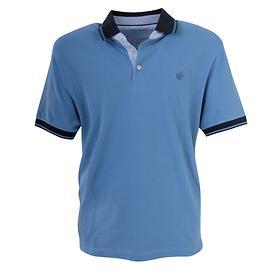 Poloshirt Benedict blau Gr. M