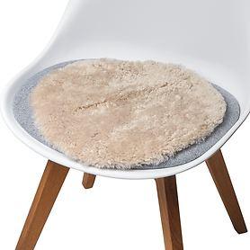 Lammfell-Sitzauflage
