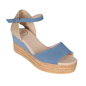 Sandalette Donna denim Gr. 36