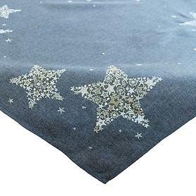 Tischdecke Sterne 85x85