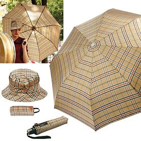 Taschenschirm und Regenhut von Knirps