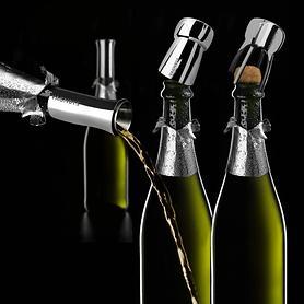 Dreiteiliges Champagner-Set