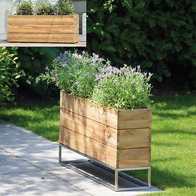 Teak-Pflanzbehälter Garden