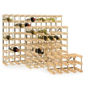 Modulares Weinregalsystem TREND, natur, Tiefe 22,8 cm
