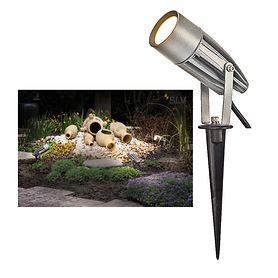 LED-Strahler Syna, silber