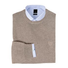 Kaschmir-Pullover Daniel Hechter sand Gr.M