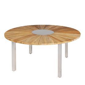 Tisch Onyx mit geraden Beinen