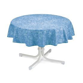Tischdecke Milo D 130 cm blau