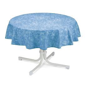 Tischdecke Milo D 160 cm blau