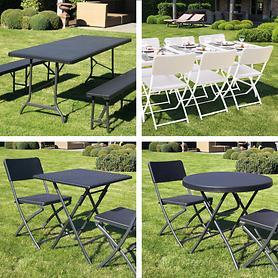 Klapp-Gartenmöbel-Serie Fold