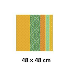 Servietten, 4er-Set Mille Claustras 48 x 48 cm bestehend aus: