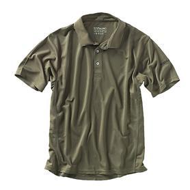 Herren-Polo-Shirt Cooldry, oliv, Gr. M