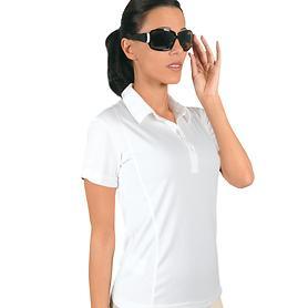 Polo-Shirt Cooldry weiß L Gr. L