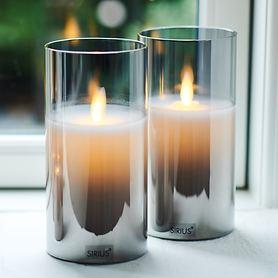 LED-Kerze Ivy 2er-Set
