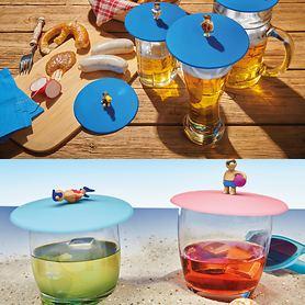 Glasabdeckungen Biergarten und Beach Boys