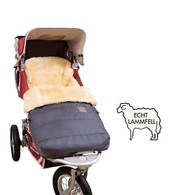 Lamfell-Kinderwagensack