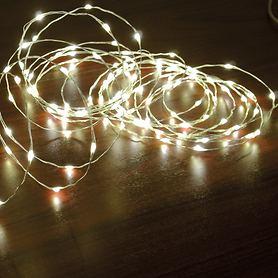 LED-Draht-Lichterkette Wire 10 m 200 LEDs