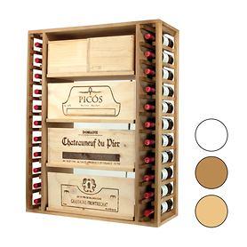 Weinregalsystem PROVINALIA für Flaschen und Weinkisten