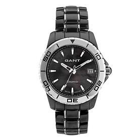 Gant Armbanduhr Floral Park schwarz