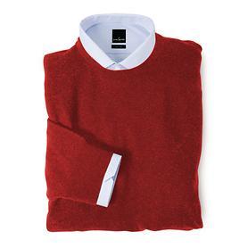 Kaschmir-Pullover Daniel Hecher rot, Gr.L