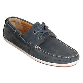 Moccasin Canton-Two-Eye  navy  Gr. 41