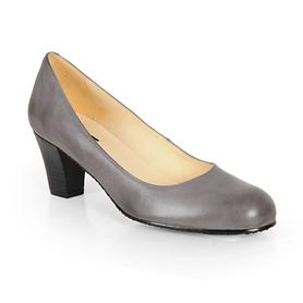 Damen-Pumps Sixties grau, Gr. 41