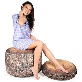 Weiches Karo-Nachthemd aus 100% reiner Baumwolle