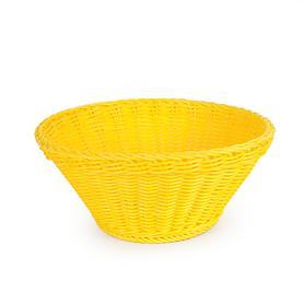 Korb Saleen, gelb