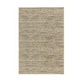 Woll-Teppich Volterra grau meliert 60x110 cm
