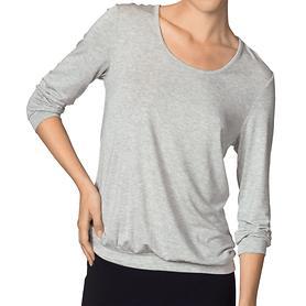 Shirt 3/4 Arm Favourites hellgrau Gr. 44/46