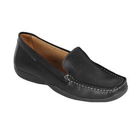 Damen-Mokassin 'Marcia' schwarz Gr. 38 | Schuhe > Mokassins | Moema