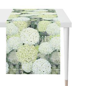 Tischläufer Hortensie 48x140