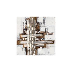 Bild Silverline, vertikal H 70 x B 70 x T 4 cm