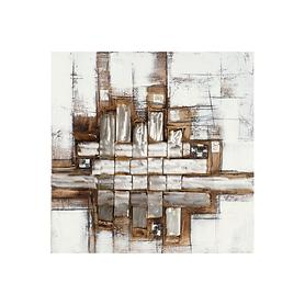 Bild Silverline, horizontal H 100 x B 100 x T 4 cm