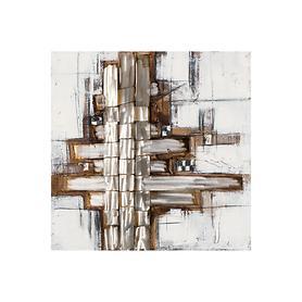 Bild Silverline, vertikal H 100 x B 100 x T 4 cm