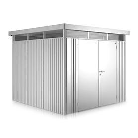 Gerätehaus 'Highline' H2, silber | Garten > Gerätehäuser | Biohort