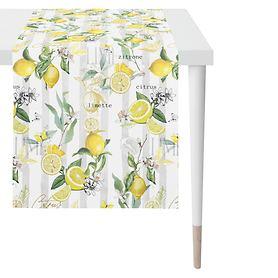 Tischläufer Zitrone 140x48