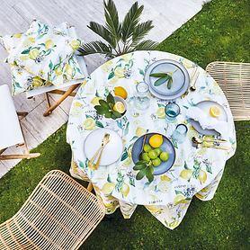 Tischwäschen-Serie Zitrone