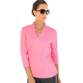 3/4-Arm-Shirt Vita pink Gr. 36